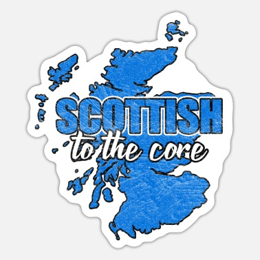 National Scotland nation Edinburgh nation nationality - Sticker