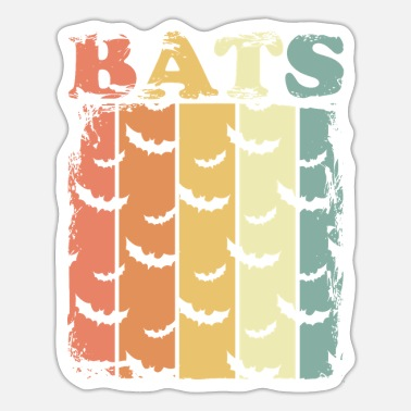 Bat Bats bat - Sticker
