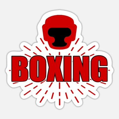 Boxing Match boxing match - Sticker
