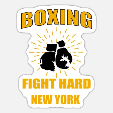 Boxing Match Boxer Boxing Boxing match - Sticker