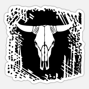 Cow Skull Cow skull - Sticker