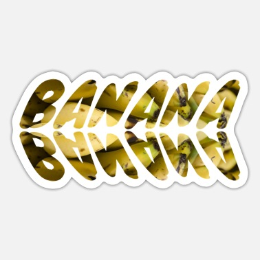Bananas BANANA BANANAS - Sticker