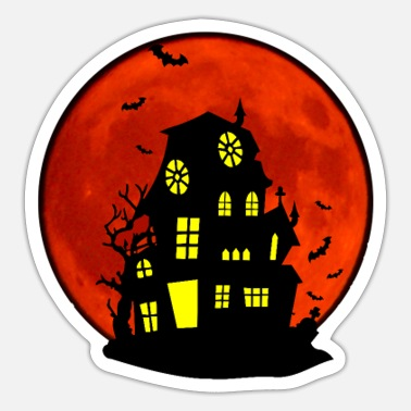 Haunted House Haunted house - Sticker