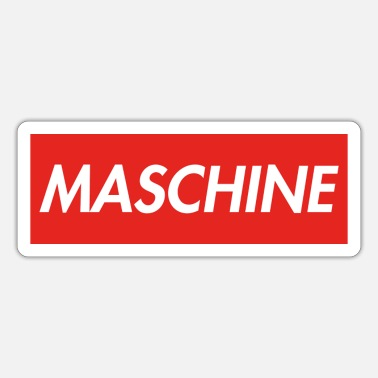 Machine MACHINE - Sticker
