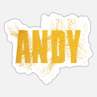 Andy Andy - Sticker