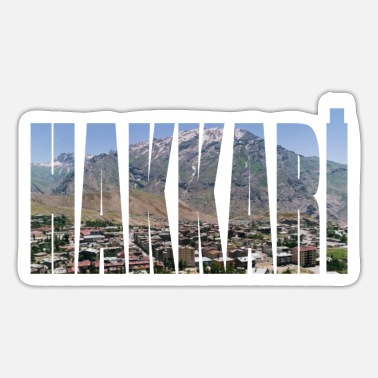 Panorama hakkari panorama - Sticker