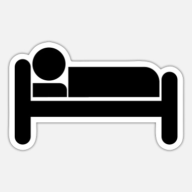 Bed Bed - Sticker