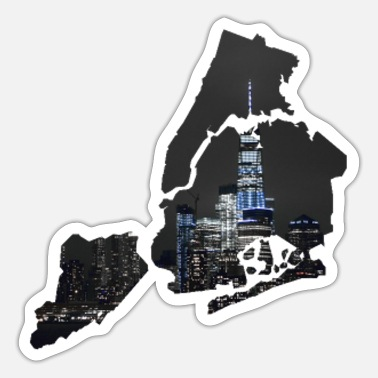 Nyc NYC - Sticker