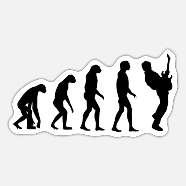 Guitar Player Guitar Player Evolution - Sticker