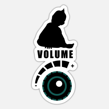 Volume Set volume - Sticker