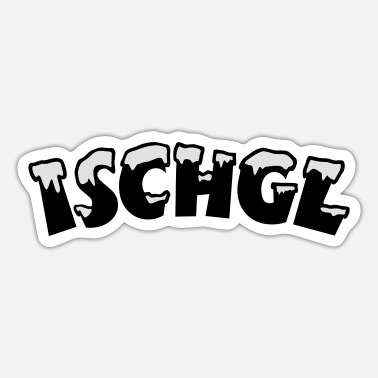 Ischgl Ischgl Snow - Sticker