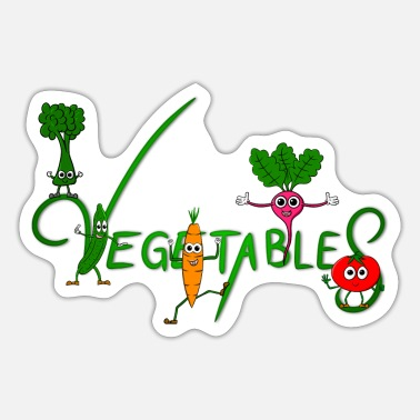 Vegetables Vegetables - vegetables - Sticker
