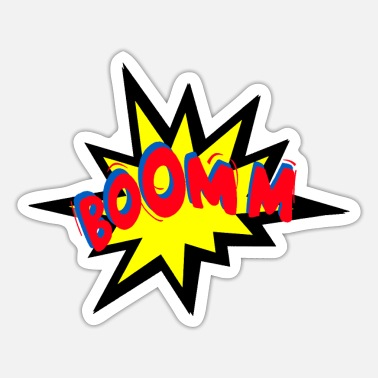 Explosion Boomm - The Comic Explosion - Sticker