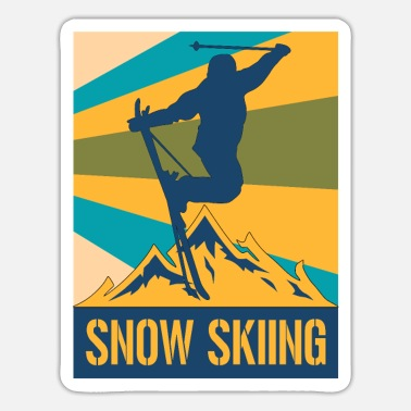 Winter Sports winter sports - Sticker