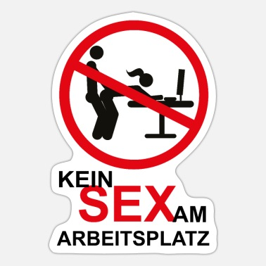 Desk No workplace sex desk ban - Sticker