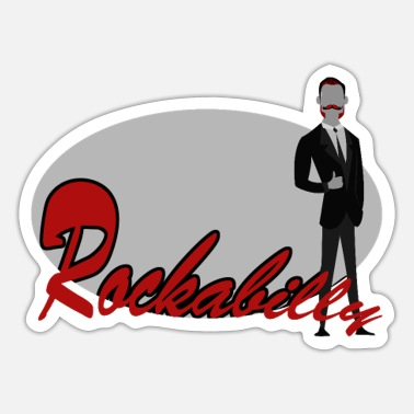 Rockabilly rockabilly - Sticker
