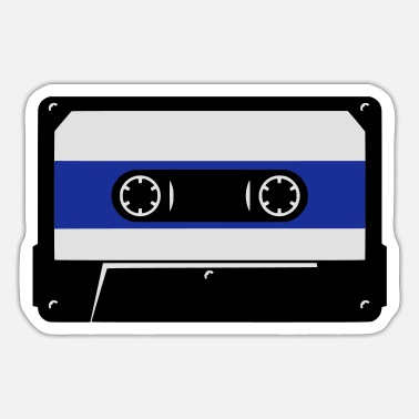 Audio Audio Tape - Sticker