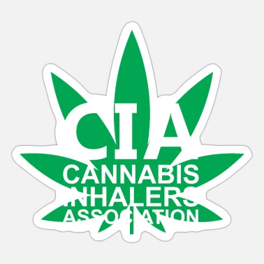 Association Cannabis Inhalers Association - Sticker