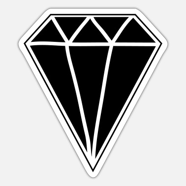 Diamanter Diamant - Sticker