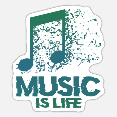 Music Musical symbols music - Sticker