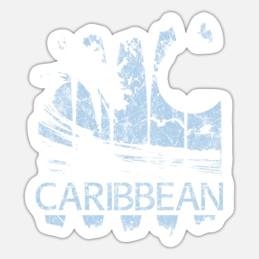 Caribbean Caribbean Caribbean holiday gift idea - Sticker