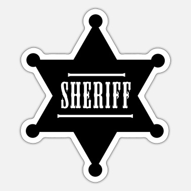 Sheriff Sheriff - Sticker