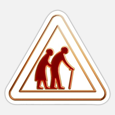 Older People Older people 15 - Sticker