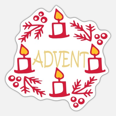 Advent Advent - Sticker