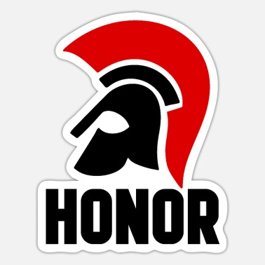 Honor honor - Sticker