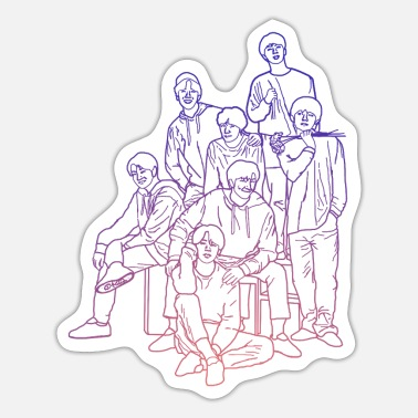 Pop Kpop group kpop fan - Sticker