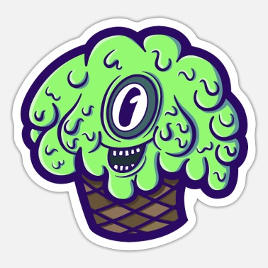 Mutant Mutant ice cream - Sticker