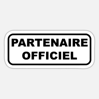 Officielle Officiel partner - Sticker