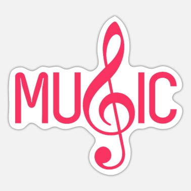 Music Music ... Music - Sticker