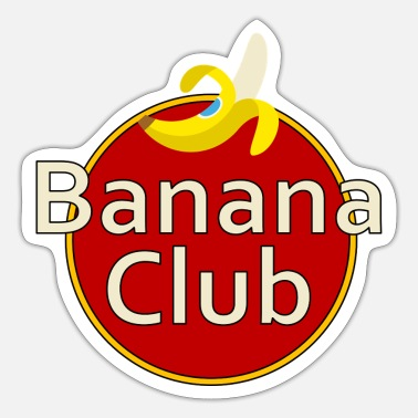 Parody Banana Club, parody - Sticker
