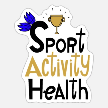 Sporty Sporty Active - Sticker