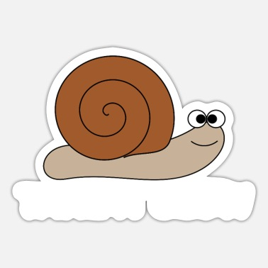 Slow Slow snail - Sticker