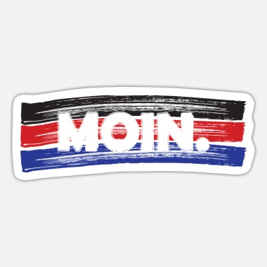 East Frisia East Frisia | Moin | flag - Sticker