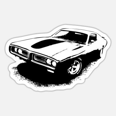 Charger Charger Musclecar - Sticker