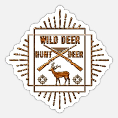 Wild Deer Wild Deer - Sticker