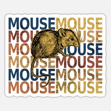 Mouse mouse - Sticker
