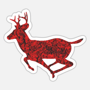 Stag Stag love - Sticker