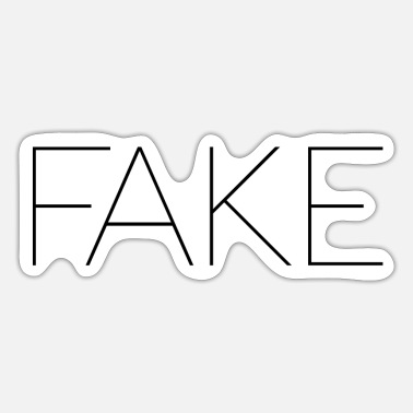 Fake FAKE - Sticker