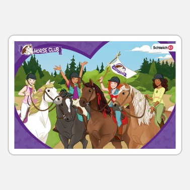 Schleich Horse Club Character Collage - Sticker