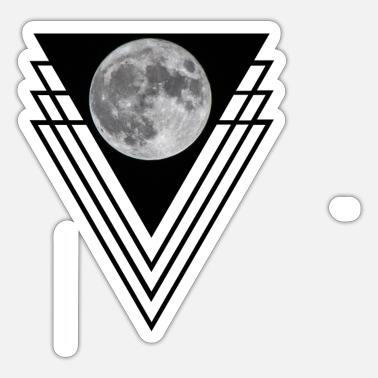 Moon Moon / moon - Sticker