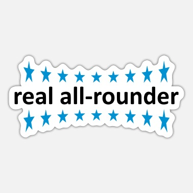 Rounders real all-rounder - Sticker