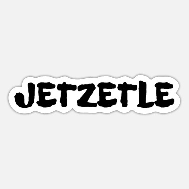 Swabia Jetzetle design for Swabia - Sticker