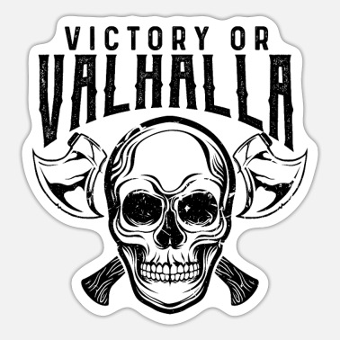 Victory Vikings Victory of Valhalla - Sticker
