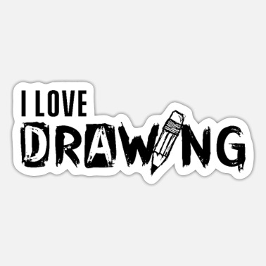 Drawing Drawing drawing drawing drawing - Sticker