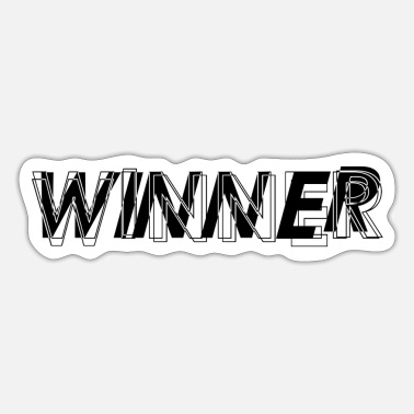 Winner Winner - Sticker