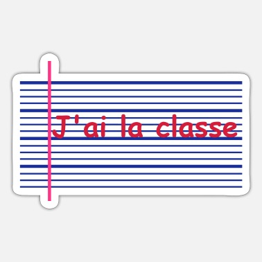 Klasse Klasse - Sticker